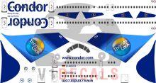 Condor -Boeing 757-300 Decal