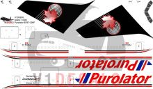 Cargojet, Purolator -Boeing 767-300 Decal