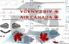Air Canada -Airbus A330-300 Decal