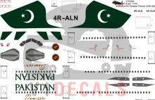 Pakistan International Airlines (PIA) -Airbus A330-300 Decal