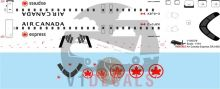 Air Canada Express -Bombardier CRJ 705-900 Decal