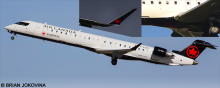 Air Canada Express -Bombardier CRJ 705-900 Decal