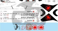 Air Canada Express -Embraer E175 Decal