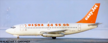 EasyJet -Boeing 737-200 Decal
