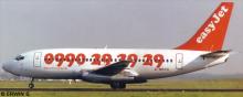 EasyJet -Boeing 737-200 Decal