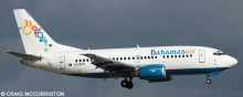 Bahamasair -Boeing 737-500 Decal