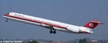 Meridiana McDonnell Douglas MD-80 Decal