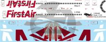 First Air -Boeing 737-400 Decal