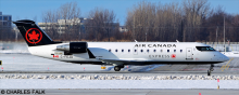 Air Canada Express, Air Canada Jazz -Bombardier CRJ 100-200 Decal