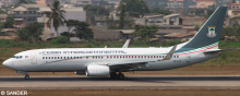 Ceiba Intercontinental -Boeing 737-800 Decal