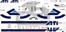 ATI Aero Trasporti Italiani, Alitalia McDonnell Douglas MD-80 Decal