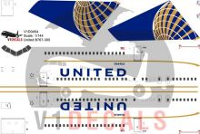 United Airlines Boeing 767-300 Decal