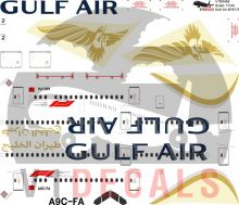 Gulf Air -Boeing 787-9 Decal