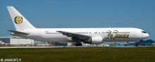 Fly Jamaica -Boeing 767-300 Decal