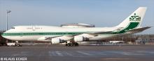 Kingdom Holding Company -Boeing 747-400 Decal