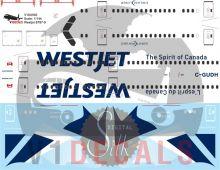 Westjet -Boeing 787-9 Decal