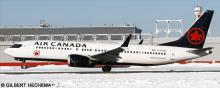 Air Canada -Boeing 737-8 MAX Decal