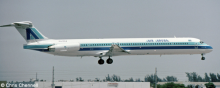 Air Aruba McDonnell Douglas MD-80 Decal