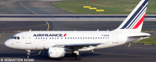 Air France Airbus A318 Decal