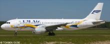 UM Air Airbus A320 Decal