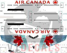 Air Canada Boeing 777-300 Decal